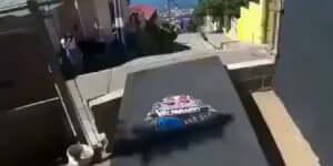 Hihetetlen extrém kerékpározás