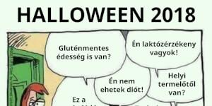 Halloween napjainkban