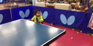 Hihetetlen pingpong tehetség