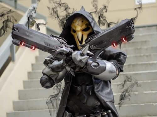 Döbbenetes Overwatch: Reaper jelmez