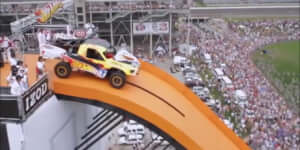 Hot Wheels világrekord ugrás