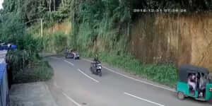 Egy mini traktorbaleset
