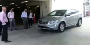 A Volvo automatafék-tesztje