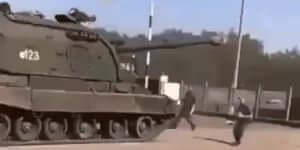 Tank megállítása szláv módra