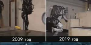 A Boston Dynamics fejlődése 20 évben